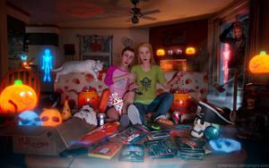 LiS - Hellaween video night by Mike-Kossi