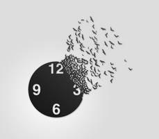 Clock face Batly by makaroniczos