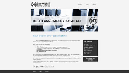 Dulwich IT Ambulance by makaroniczos
