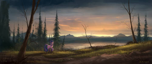 Colours of Twilight by Shamanguli