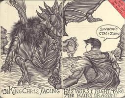 Moleskine XXXI - Kings+Castles by simoneines