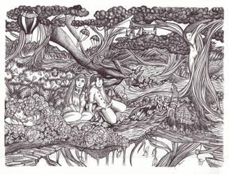The Wondrous Grove I by Nakilicious