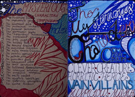 The Sketchbook Project 2013 - Table of Contents by Nakilicious