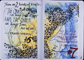 Sketchbook Project Limited Edition 2012 #6-7 by simoneines