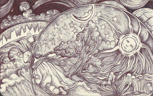 Moleskine XV - Camille Flammarion, L'Atmosphere by Nakilicious