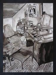 The artist's workshop 2004 by simoneines