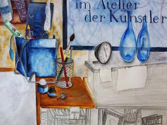 Im Atelier der Kuenstler by simoneines