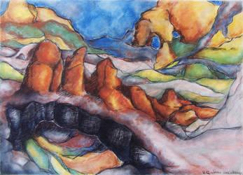 A Landscape by simoneines