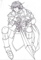 cesar, the Lord Knight by simoneines