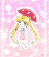 Chibi Usagi - Sailor Moon Crystal by Myusse