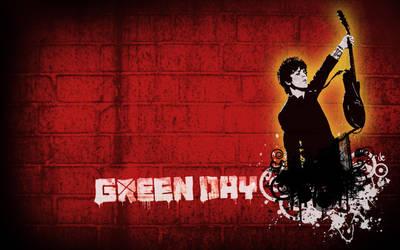 Green Day Wallpaper by Xiaoyu85ve