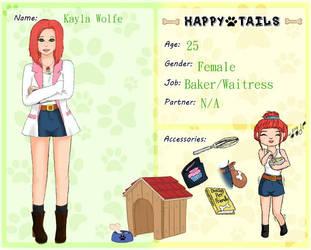 Happy Tails: Kayla Wolfe by Jamie-Wolfe