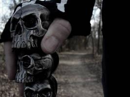 Cane of Skulls by RubyDoom