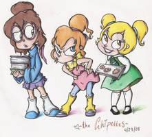 The Chipettes by elixirXsczjX13