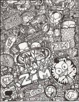 Zim-sanity by elixirXsczjX13