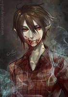 Marshall Lee drink blood by o-pan