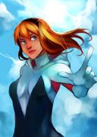 Spider-Gwen by blackkenzaki