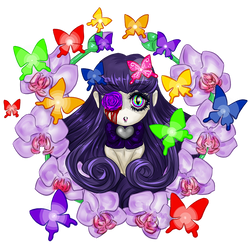 Sanctuary - Chibi in Orchid Ring by MasterJuunanagou17