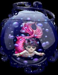 Hiro - Little Mermaid in a Sphere by MasterJuunanagou17