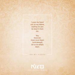 On My Sleeve by Kiyo-Poetry