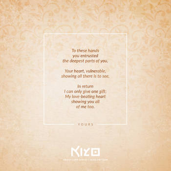 Yours by Kiyo-Poetry
