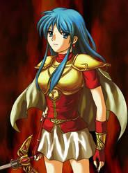 Eirika - Fire Emblem 8 by p997tt