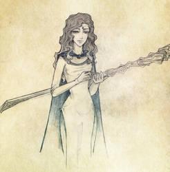 Moiraine Damodred by fee-absinthe