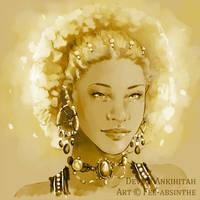 Portrait Commission: Devj by fee-absinthe