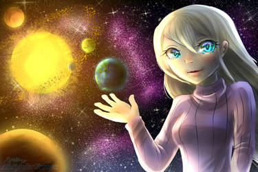 This is where we live_Earth by AioKhyslerSirraya