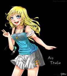 Aio thalia_anime girl_oc by AioKhyslerSirraya