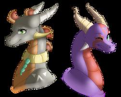 :Commish: - Kiara and Cylan (3/4) by Venus-Dragoness