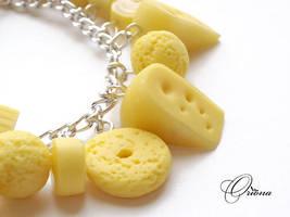 Bracelet 'Cheese' 2 by OrionaJewelry