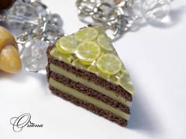 Bracelet French Desserts 3 by OrionaJewelry