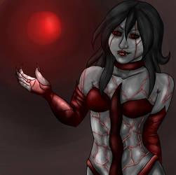 Dark Sorceress by Tales-of-Ocean-Heart