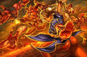 Super Street Fighter IV by BenjaminAng