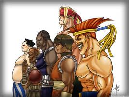 My Street Fighter Favs by BenjaminAng