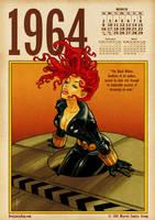 Black Widow 1964 by BenjaminAng
