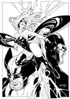 X-Men Trinity by BenjaminAng