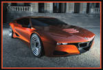 2008 BMW M1 concept by puddlz