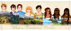 [aph] Wonderful World by Weniiii