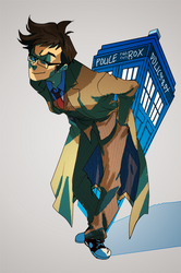 doctoring the TARDIS by spacedrunk