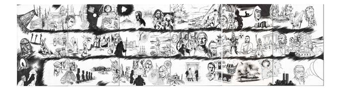 Six page spread from One Live Beast book 1. by OneLiveBeast666