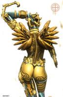 Mechanical Angel by githos