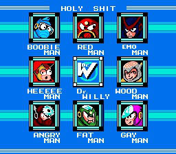 Megaman 12882625151527839 Stage Select by SPACE-ROBOTS