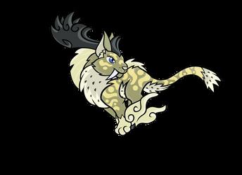 Airbender: Saber-Elk, Lin Shang Yu by H-72