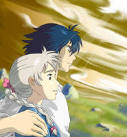 Howl's Moving Castle by Quietharm
