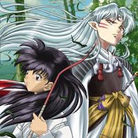 HotM: Sesshoumaru and Kagome by Quietharm