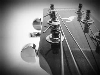 Guitar by fawnartist