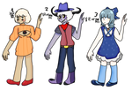 3/3 Humanoid adopts - Open by CLOWN-ROT