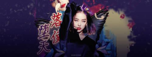 Fallen Angel Story - Yeeun CLC by gloriafamo
